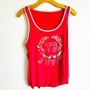 Juicy Couture Sleeveless Tee Shirt